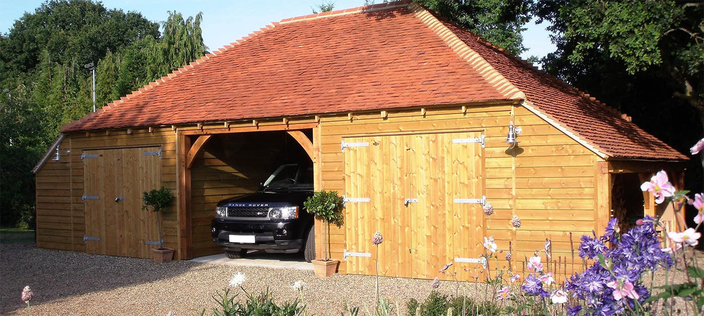 Passmores Sustainable Timber Garages