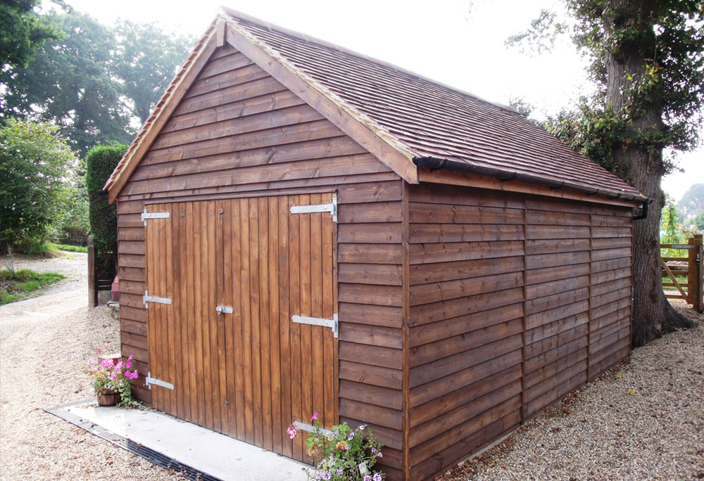 Timber Garages Supplier UK