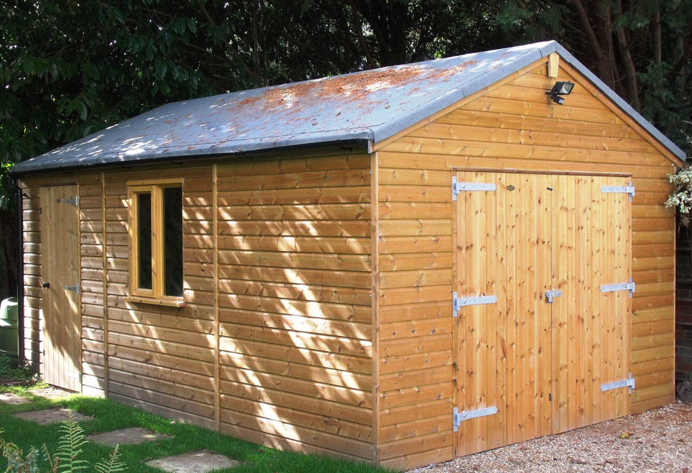 Timber Garage Kits